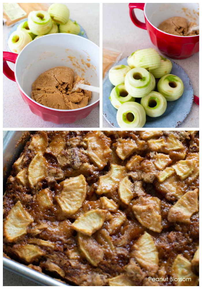How to make an apple cake that is loaded with fresh apples!