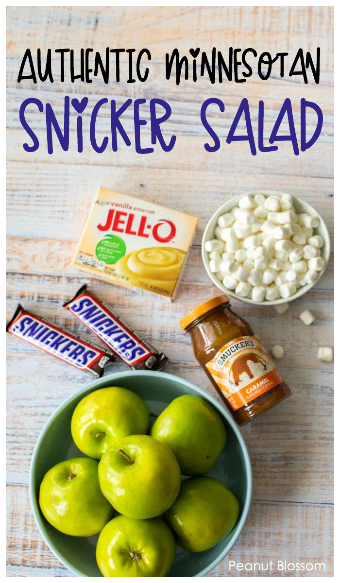 Authentic Minnesotan Snicker Salad for Thanksgiving