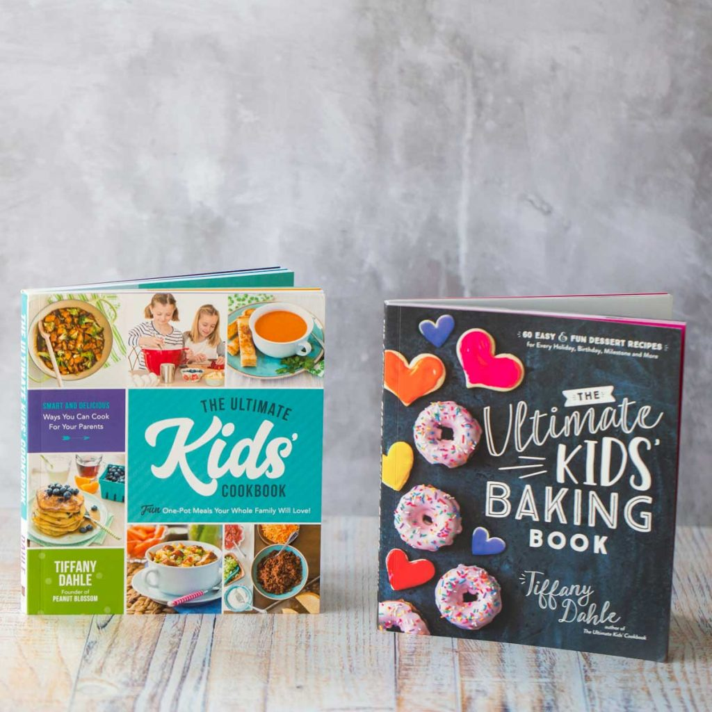 The Ultimate Kids' Cookbook & The Ultimate Kids' Baking Book by Tiffany Dahle