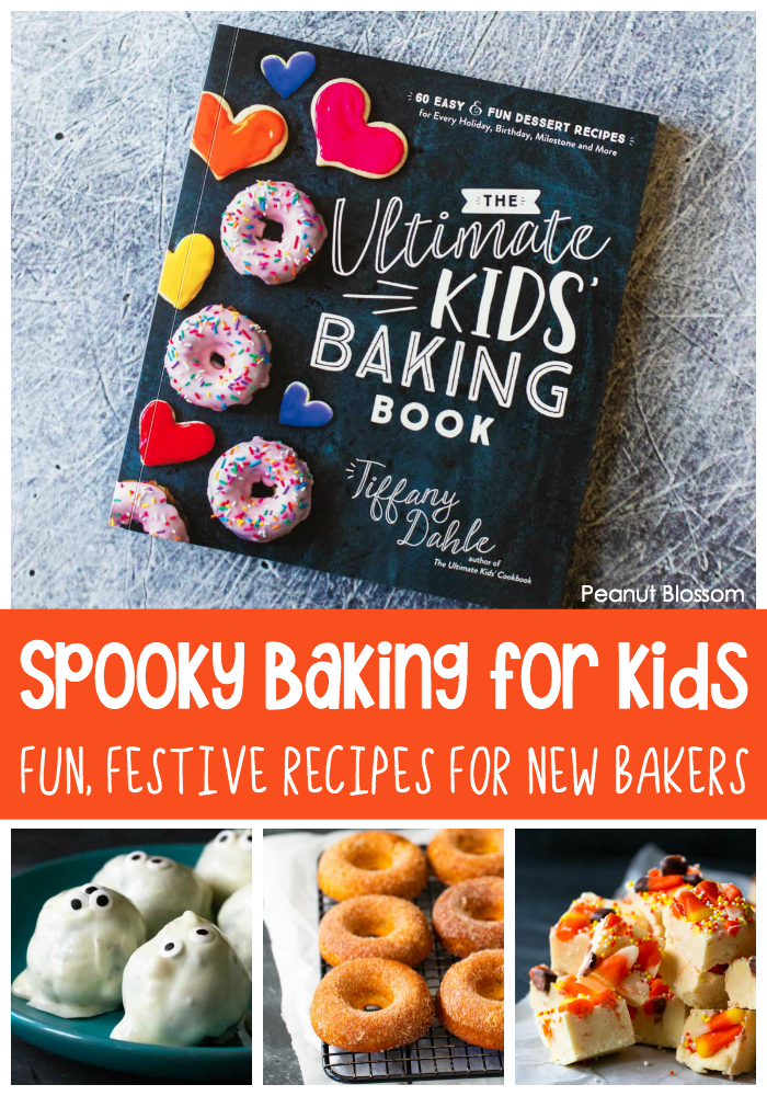"Spooky baking for kids: Fun Festive Recipes for new bakers. Perfect for a ""You've Been Booed!"" party."