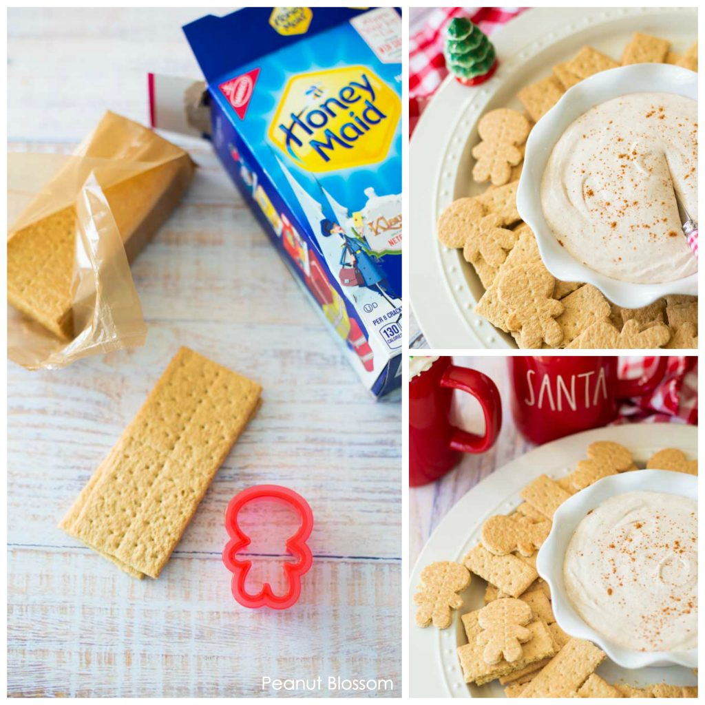 Gingerbread S'more Dip: an easy Christmas treat to make with kids.