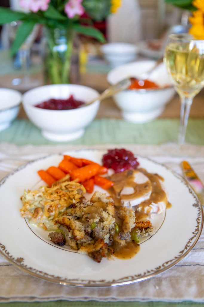 Homemade gravy is delicious drizzled over practically everything on your Thanksgiving dinner plate!