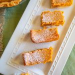 Easy peasy pumpkin gooey butter cake bars you have to try