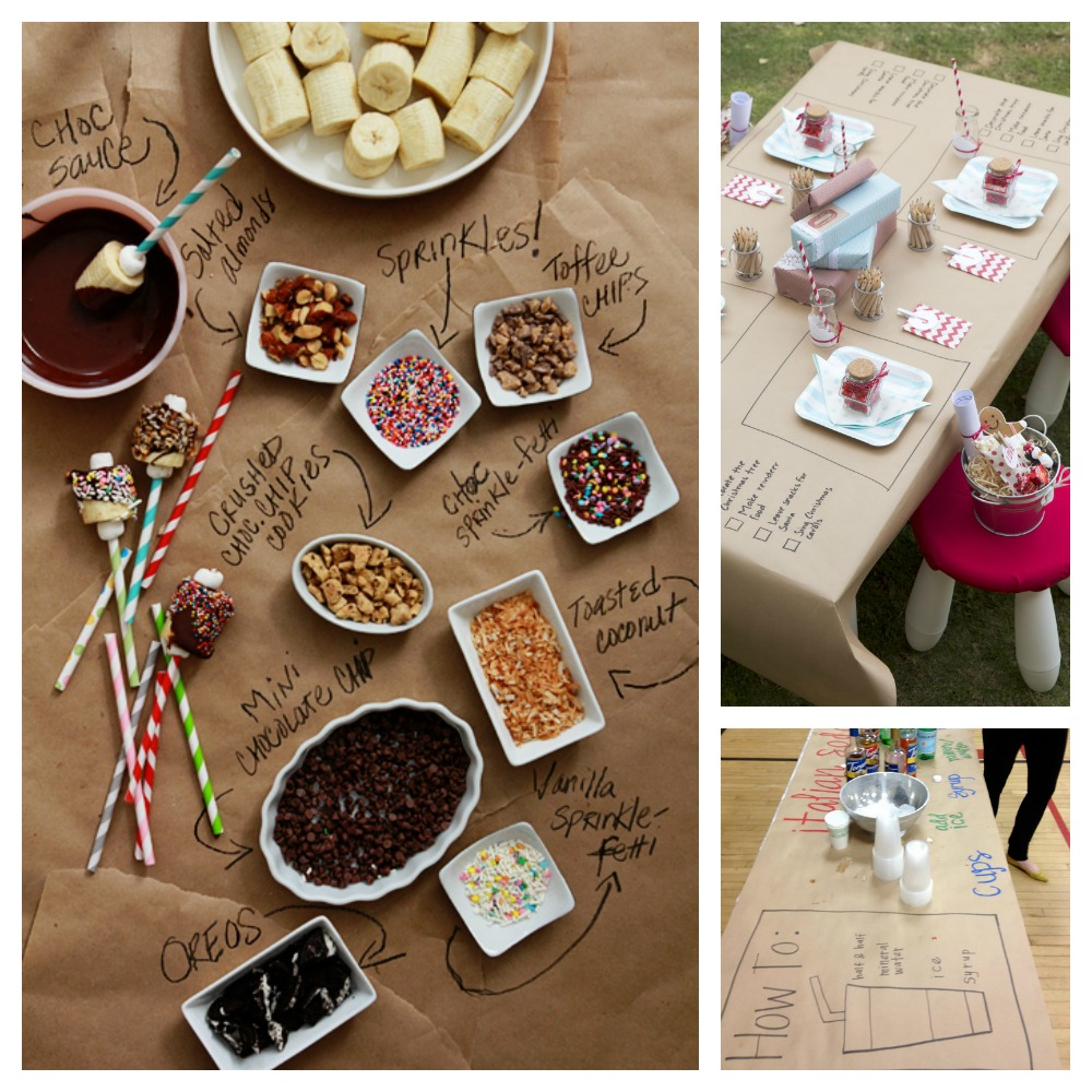 Hosting a Kids' Cookie Decorating Party *love the paper tablecloth idea to keep the mess under control.