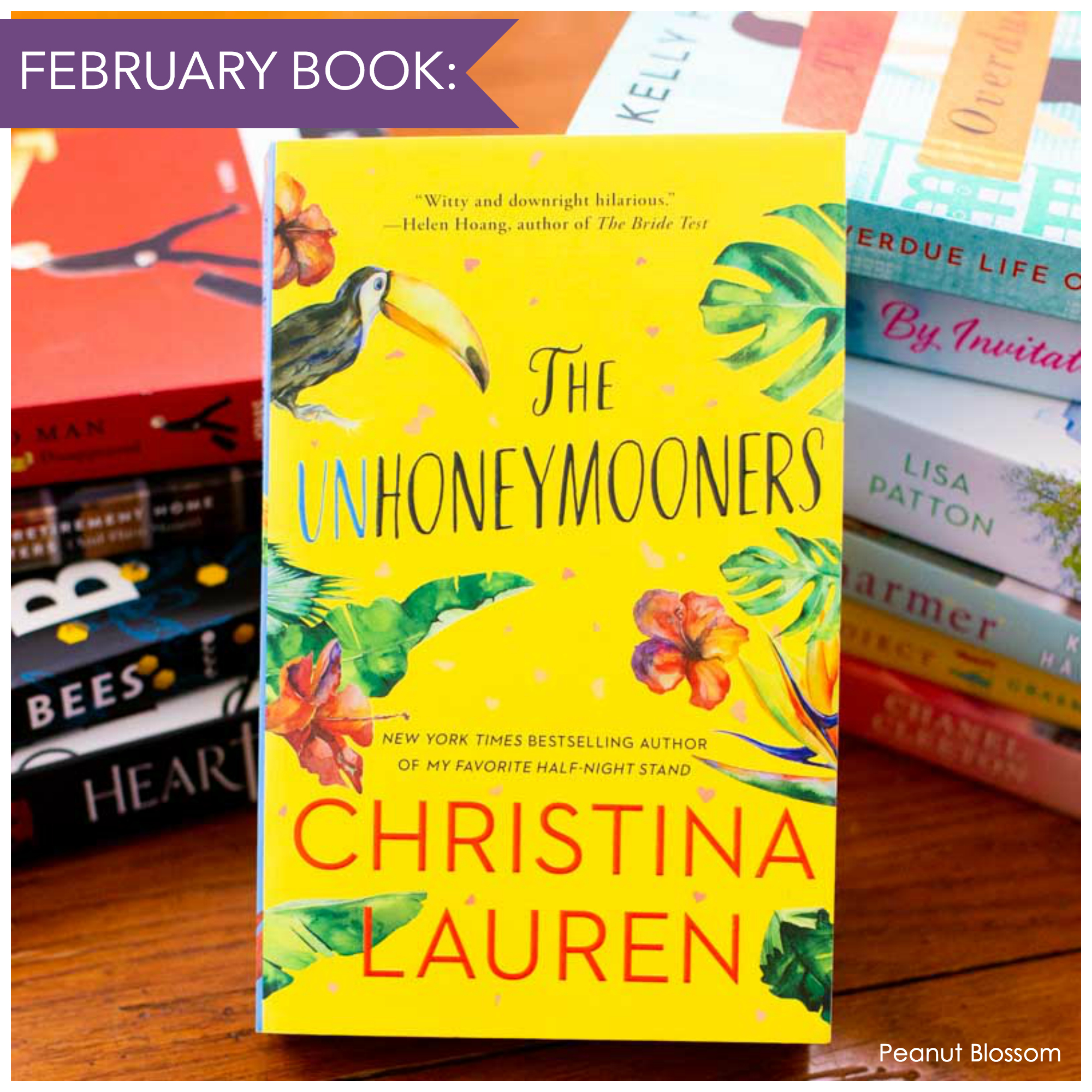 The cover of The Unhoneymooners by Christina Lauren