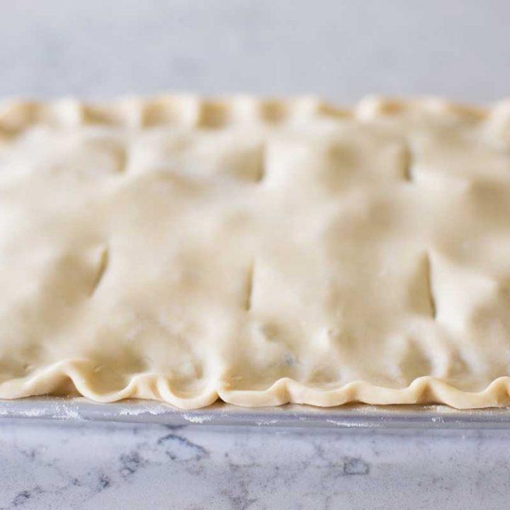 Flaky Butter Pie Crust