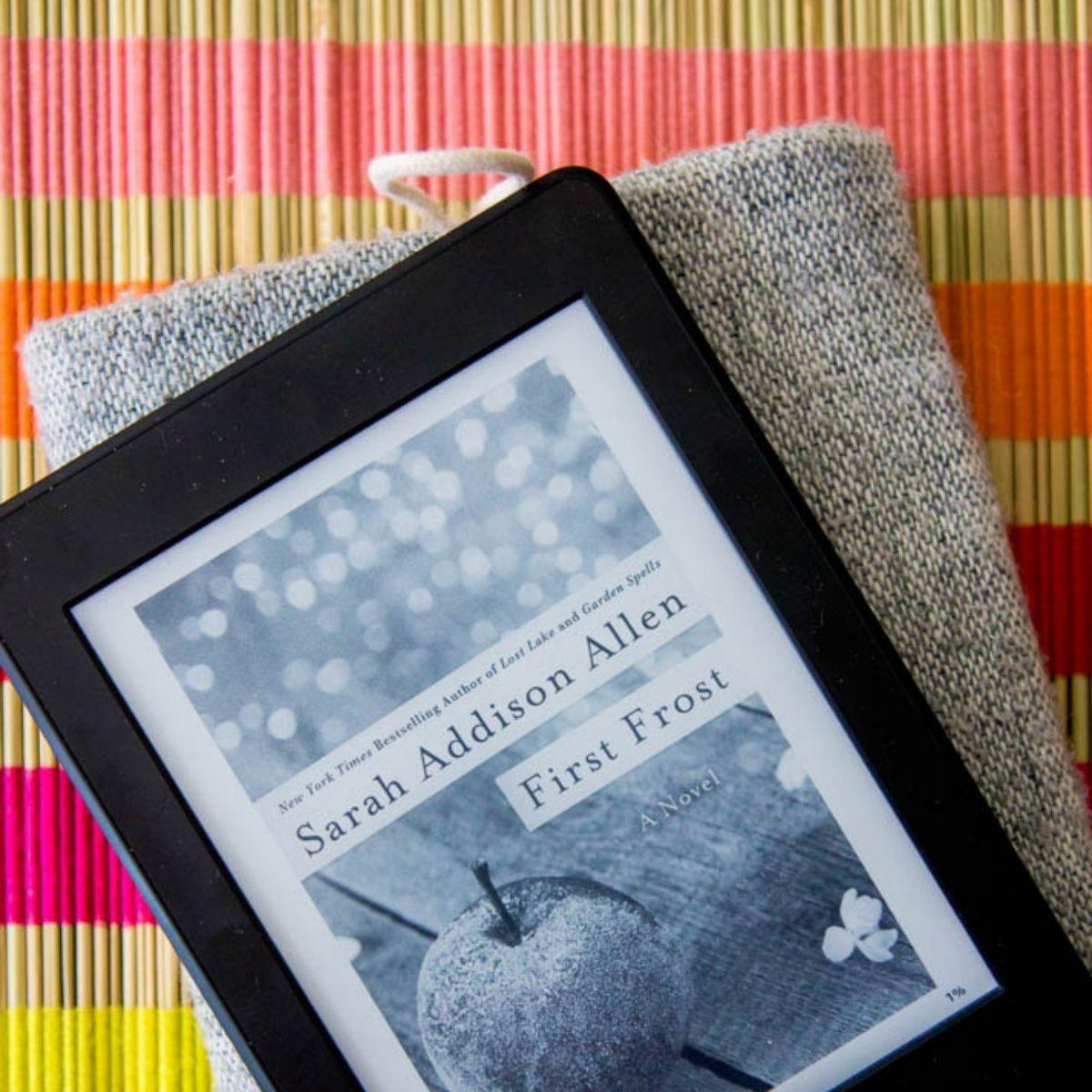 A Kindle has a new Kindle book for mom to read on her special day.
