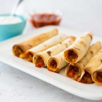 baked turkey taquitos
