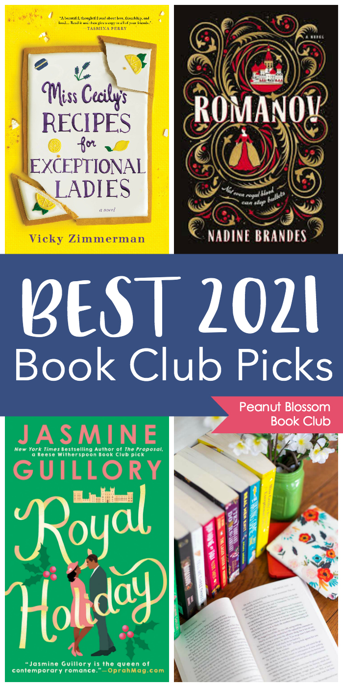 The book club book covers for the September - December picks.