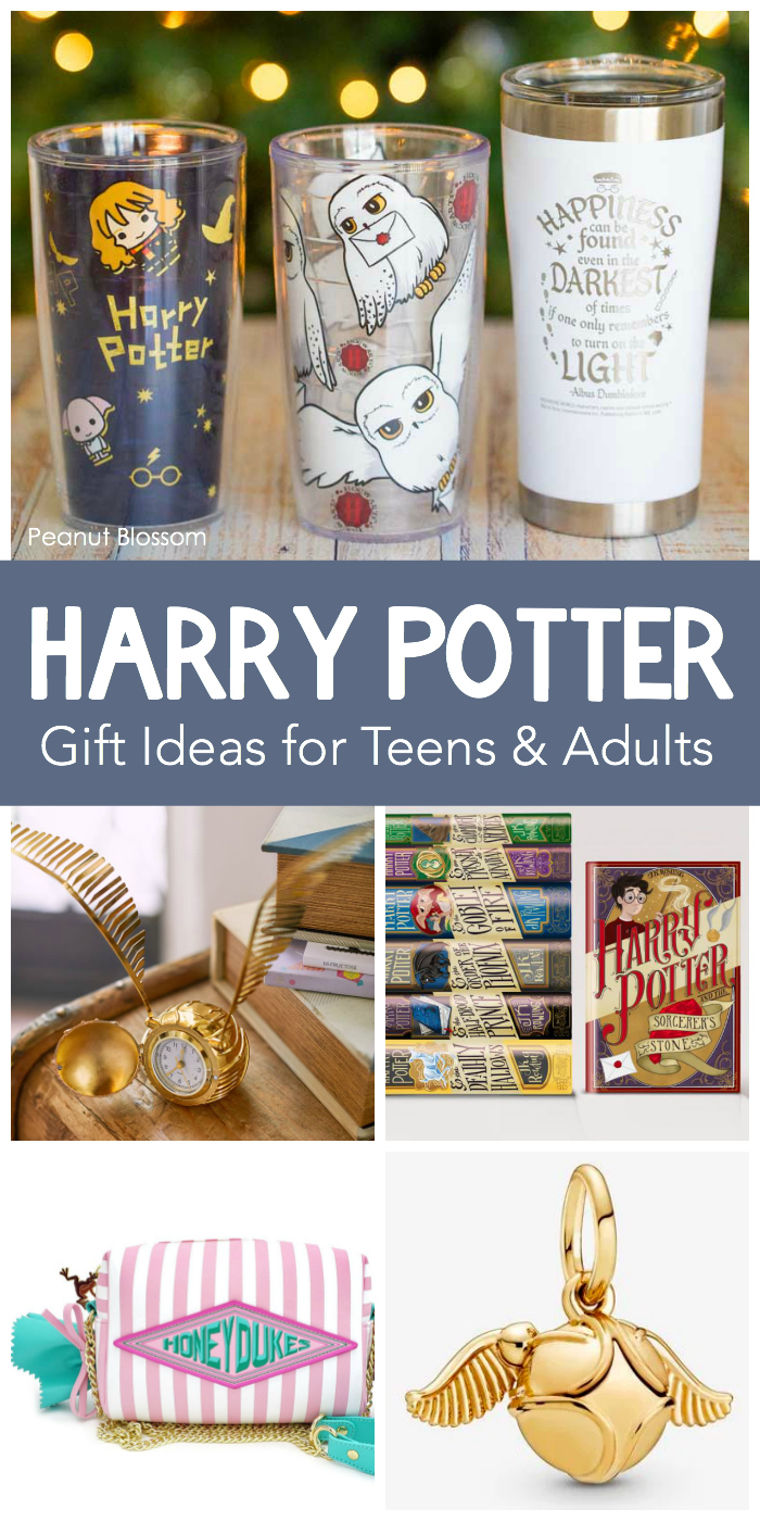 15 Harry Potter Gift Ideas For Teens And The Muggles Who Love Them Peanut Blossom