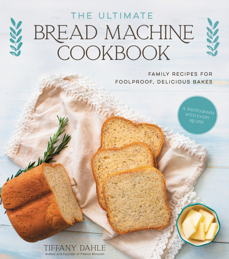 The cover of The Ultimate Bread Machine Cookbook by Tiffany Dahle