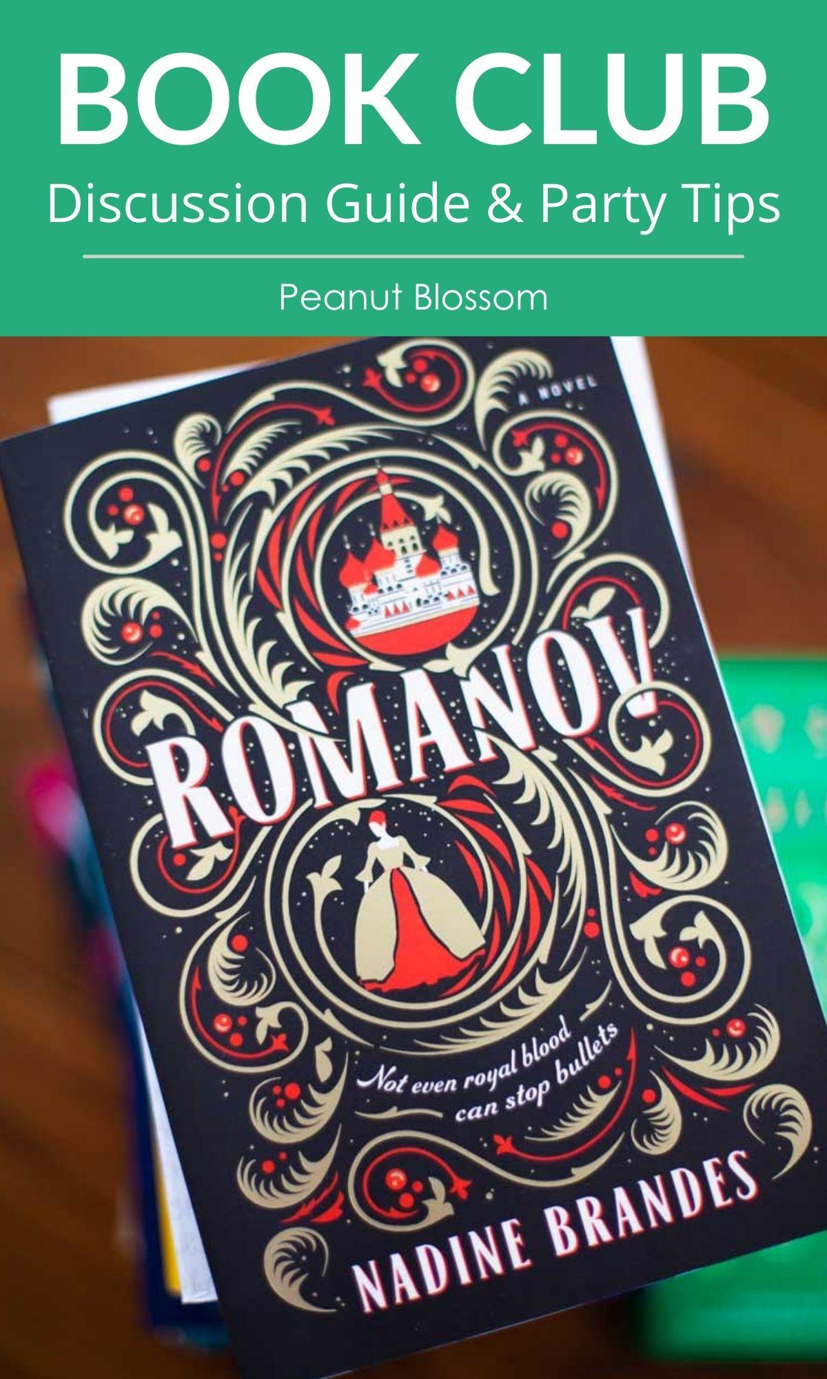 The cover of the book Romanov